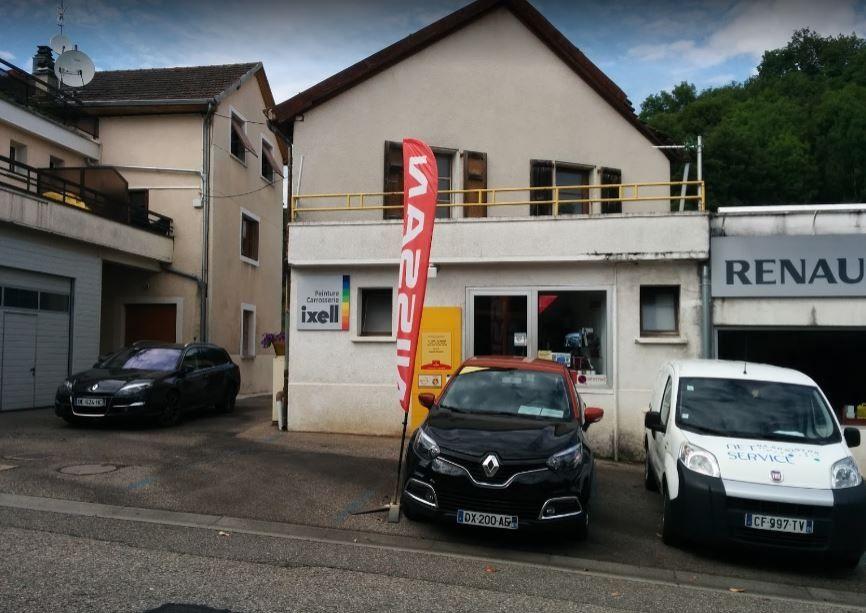 Garage rendu gerard gex 01170 for Location garage gex